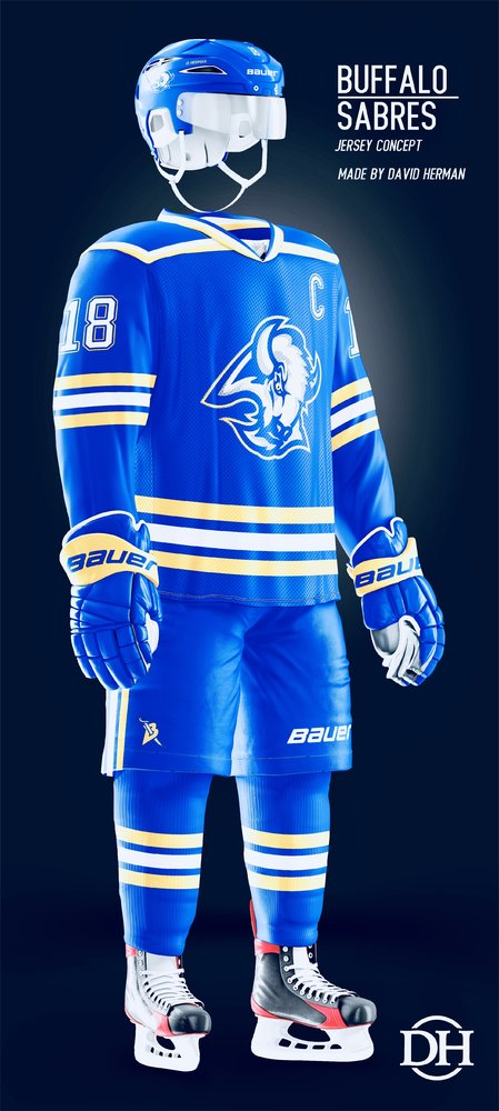 finest selection 5746c b99b7 Sabres Expected to Get A Third Jersey for 2019-20 - The Aud ...
